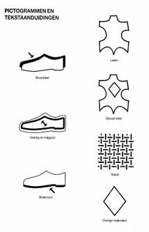 026a922df028c7 Een schoen met het bovendeel, inlegzool en buitenzool uit leder laat de  voet optimaal ademen en voorkomt voetproblemen.